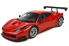 BBR 2013 Ferrari 458 Italia GT3 Press Team Red 1:18 LE 72pcs P1862T *New Item!
