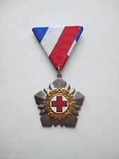 Communist Yugoslavia Red Cross Highest National Order for Merits EXTREMELY RARE!
