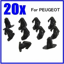 20 x Rubber Weatherstrip Moulding Seal Trim Clips For PEUGEOT 206/307/406 699786