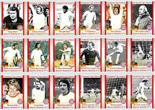 Bayern Munich European Cup winners 1974 football trading cards