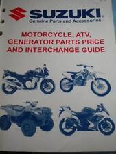 OEM 07 Suzuki Motorcycle ATV Generator Parts Price And Interchange Guide