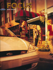 2000 Ford Focus Original Car Sales Brochure Catalog - ZX3 ZTS SE