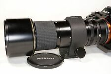 Nikon Nikkor AI-S 300mm f/4.5 ED IF lens, bundle with Sony E mount