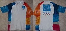 AUTHENTIC OLYMPIC VOLUNTEERS SHIRT ATHENS 2004 BY ADIDAS SIZE UK 20, F48 GREECE