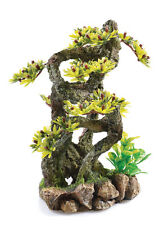 Twisted Bonsai Tree Climber with Plants BiOrb Ornament Aquarium Decoration