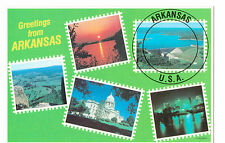 Arkansas U.S.A. Collectors Mini Photographs 1981 Postcard