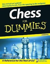 Chess for Dummies by James Eade 2005 2nd Edition LN Learn How to Play