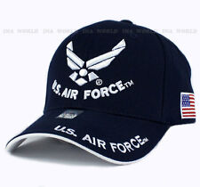 U.S. AIR FORCE hat cap USAF Military Official Licensed Baseball cap- Navy Blue