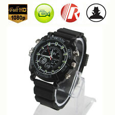 Mini 16GB DVR Waterproof HD 1080P Spy Hidden Watch Camera Night Vision Camcorder