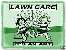 Lawn Care METAL Sign grass seed gardening business office vintage style DECOR438