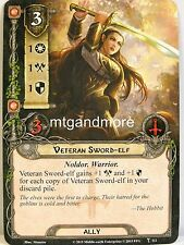 Lord of the Rings LCG - #112 Veteran Sword-Elf - A Storm on Cobas Haven
