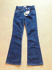 JUICY COUTURE New Girls' Jeans w/ Rainbow Heart Stitching w/ Flare NWT BEAUTIFUL