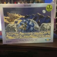 Jigsaw Puzzle 1000 Pieces -Schim Schimmel Rising Moon, Setting Sun Japan Import