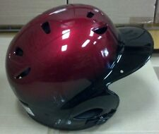 Batting Helmet NOCSAE Cert. Baseball/Softball NEW RED & BLACK