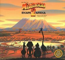 The Art of Madagascar Escape 2 Africa by Jerry Beck Hardcover Book - Sealed New
