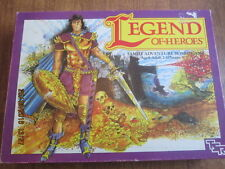 Legend of Heroes Board Game by TSR. Complete. Wear to outer cardboard box. (G)