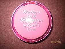 Very cute compact DOUBLE mirror in pink CHRISTMAS GIFT FOR MOM MOTHER
