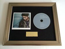 PERSONALLY SIGNED/AUTOGRAPHED CONOR MAYNARD -TURN AROUND FRAMED CD PRESENTATION.