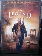 I Am Legend (DVD, 2008, Widescreen) Will Smith WORLDWIDE SHIP AVAIL