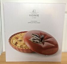 JCPENNEY Home Covered Apple Pie Dish NIB