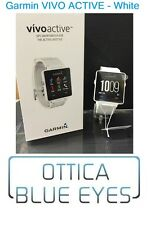 Garmin Vivoactive GPS Multi Sport Fitness Smart Watch Bianco VIVO Active Cardio