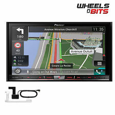 "Pioneer AVIC-F80DAB Doppel Din 7"" Navigationssystem Bluetooth DAB Apple Carplay"