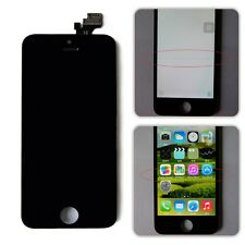 Refurbish Flaw LCD Display + Touch Screen Digitizer Assembly For iPhone 5 Black