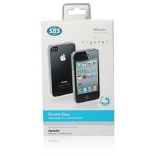 SBS CRYSTAL CUSTODIA CASE per APPLE IPHONE 4 4G 4S TRASPARENTE