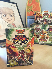 Dinosaur King Upper Deck Dino Slash Starter Deck Trading Cards Set - In the USA!