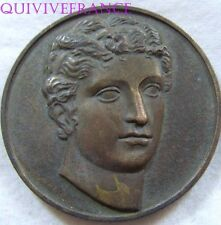 MED4468 - MEDAILLE EUTERPE DIFFUSION INTERNAT. ARTS & LOISIRS - FRENCH MEDAL