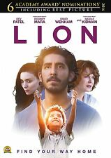 Lion (DVD 2016) NEW* Drama* Adventure Thriller Drama FAST SHIPPING !