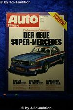 Auto Zeitung 1/77 AMG Super Mercedes Ford Granada 2,8i Oettinger Golf GTI BMW 32