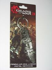 "Gears of War 3 Metal ""Retro lancer"" Keychain / Schlüsselanhänger Very Rare"