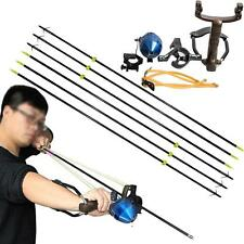 Hunting Catapult Fishing Slingshot Archery Slingbow Shooting Fiberglass Arrows