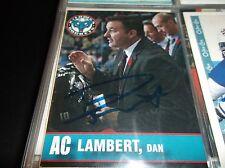2013-14 KELOWNA ROCKETS DAN LAMBERT AUTOGRAPHED CARD