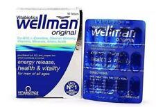 Vitabiotics Wellman suplemento de vitaminas y minerales - 30 Tabletas