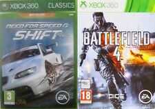 need for speed shift & battlefield 4   new&sealed