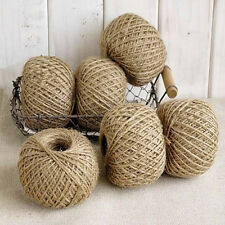 new Natural 30M Brown Jute Twine String DIY Shabby Style Rustic Shank Craft GIFT