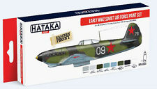 Hataka AS33 Early WWII Soviet Air Force 1937-43 Paint Set (8 Colors) 17ml Bottle