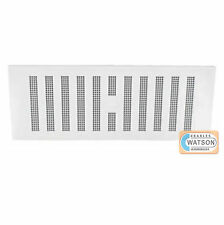 "9"" x 6"" WHITE HIT & MISS VENT Adjustable Air Ventilator Grille Cover Caravan"