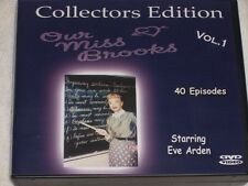 Our Miss Brooks Eve Arden TV classic 10 dvd FREE Shippng Classic TV Show new dvd