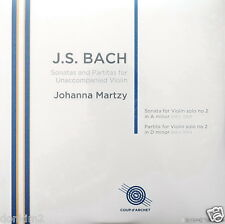 SEALED 180g - MARTZY / Bach Sonata&Partita No.2/ UK COUP d'ARCHET, COUP 018 2LP