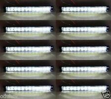 10x 24V Blanco Intermitente Lateral 12 SMD LEDs Luces CAMIÓN TRAILER PARA DAF