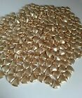 150 italian gold coloured mini heart chocolate dragees /wedding favours /sweets