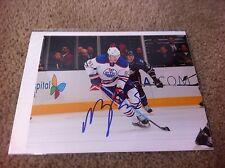 Magnus Paajarvi Autographed 8x10 Photo St. Louis Blues Edmonton Oilers Sweden