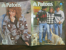 PATONS No. 911 CHUNKY  KNITS  FOR  YOU  Knitting Pattern Booklet