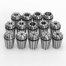 14PCS ER20 Spring Collets Set 1/16''~1/2''  For CNC Super Precision 1/8 1/4 3/8