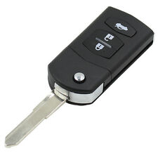 Mazda 2 3 5 6 MX5 RX8 3 Button Flip Remote Key Fob Case Right Blade Key
