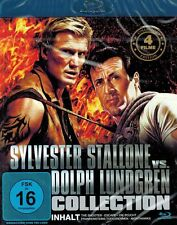 BLU-RAY NEU/OVP - Sylvester Stallone Vs. Dolph Lundgren Collection - 4 Filme