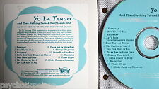 YO LA TENGO ‎– And Then Nothing Turned Itself Inside-Out  Promo-CD  Matador